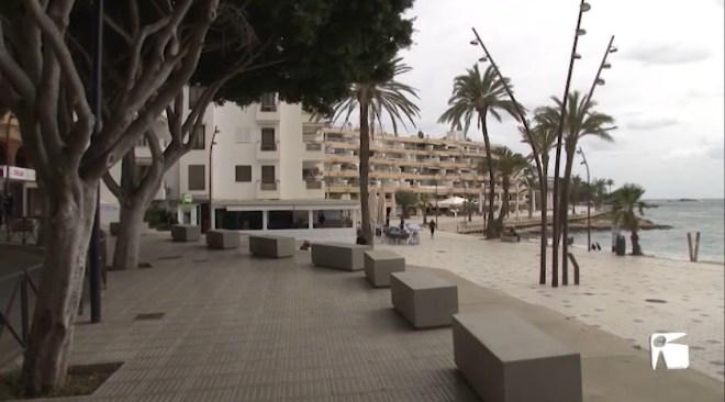 18/03/2021 Els comerciants de Ses Figueretes reclamen millores