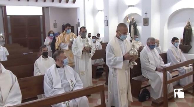 30/03/2021 El Bisbe de Menorca presideix la Missa Crismal