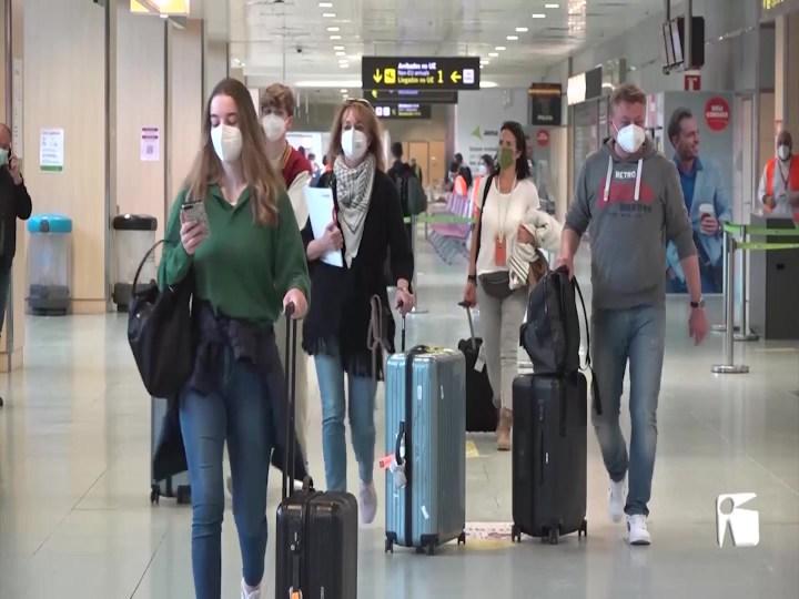 29/03/2021 Comencen a arribar turistes per Setmana Santa