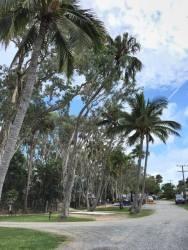 Van park at Kinka Beach