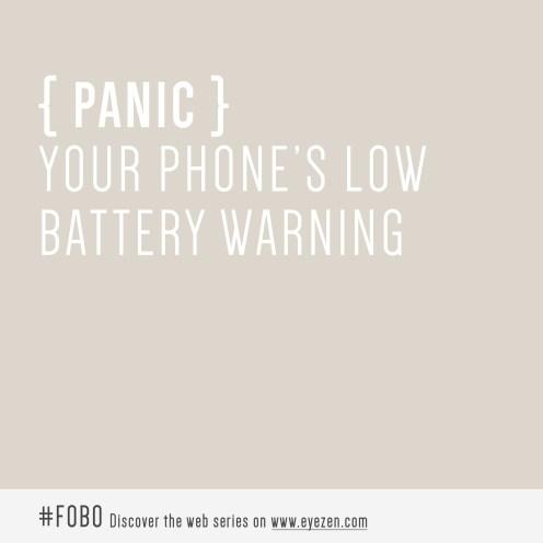 fobo dictionary panic