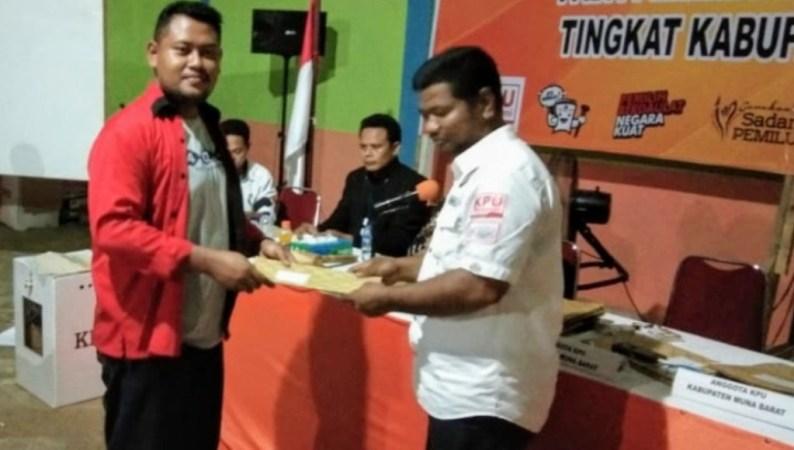 Hasil Pleno KPUD Mubar PDIP Raih 2 Kursi