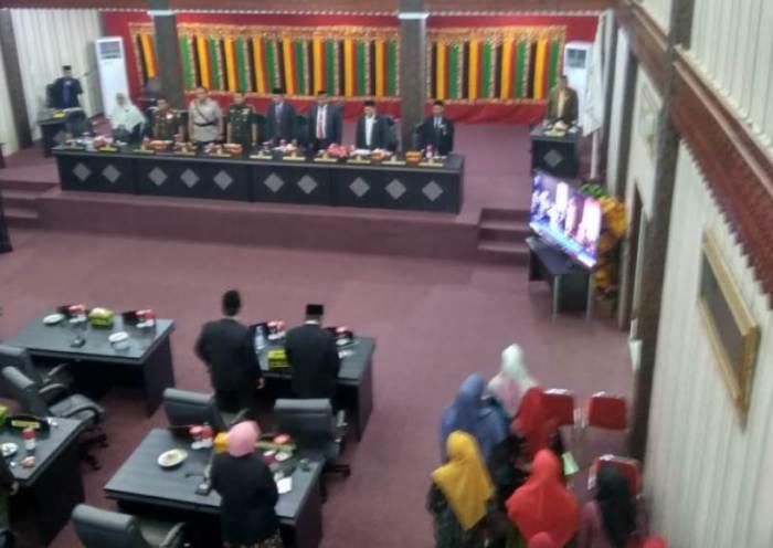 DPRK Aceh Singkil Dengarkan Pidato Presiden RI Lewat Televisi