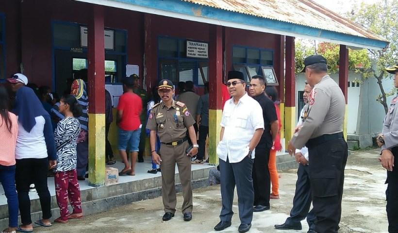 Bupati Butur Kunjungi Sejumlah TPS Pada Dua Kecamatan