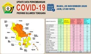 Sebanyak 65 Orang Sembuh dari Covid-19 di Sultra