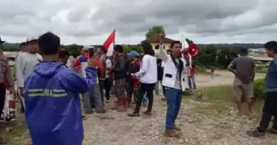 Mahasiswa Kolsel Unjukrasa, Ancam Boikot Aktivitas PT DJL