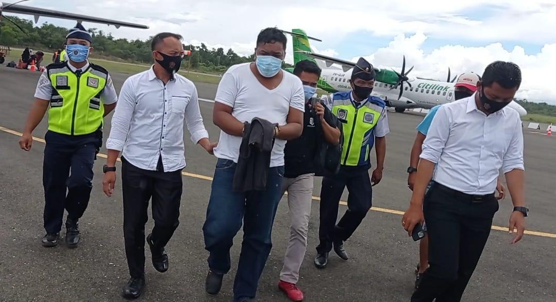 Tersangka Pembunuhan IRT DwI Hotel Gelora Kolaka