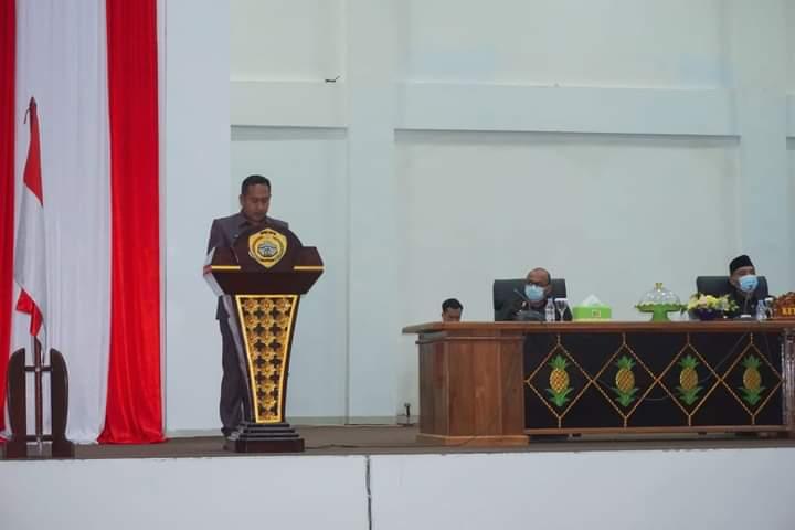 Suasana rapat Raperda 2021 DPRD Baubau