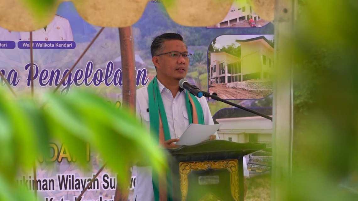 Wali kota Kendari H. Sulkarnain Kadir, SE,.ME