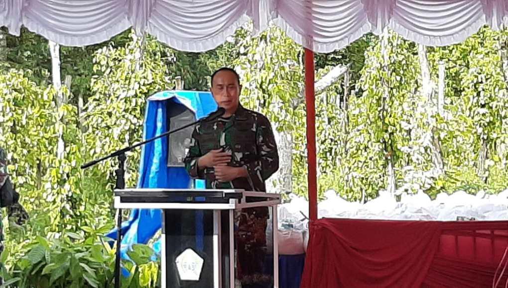 Pangdam XIV/Hasanuddin, Mayjen TNI Andi Sumangerukka SE, MM