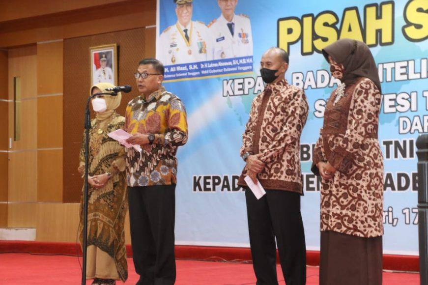 Brigjen TNI Aminullah selaku Kabinda Sultra yang lama