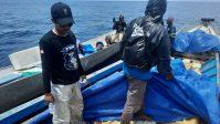 Polisi Amankan 8 Ton Minyak Tanah di Perairan Labengki Konut