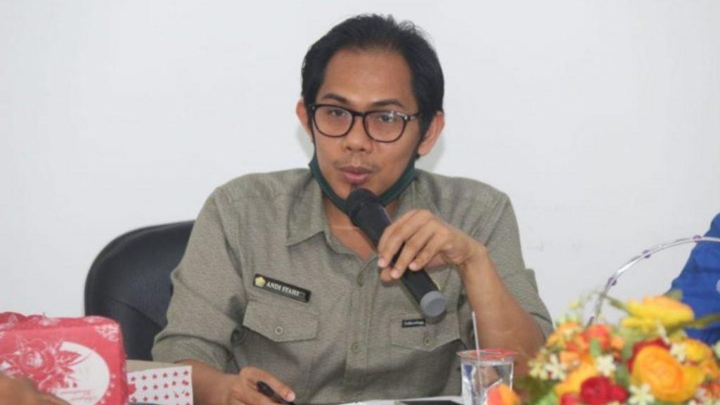 Andi Syahrir, S.TP, M.Si (Kepala Bidang Informasi dan Komunikasi Publik, Dinas Komunikasi dan Informatika Provinsi Sulawesi Tenggara)