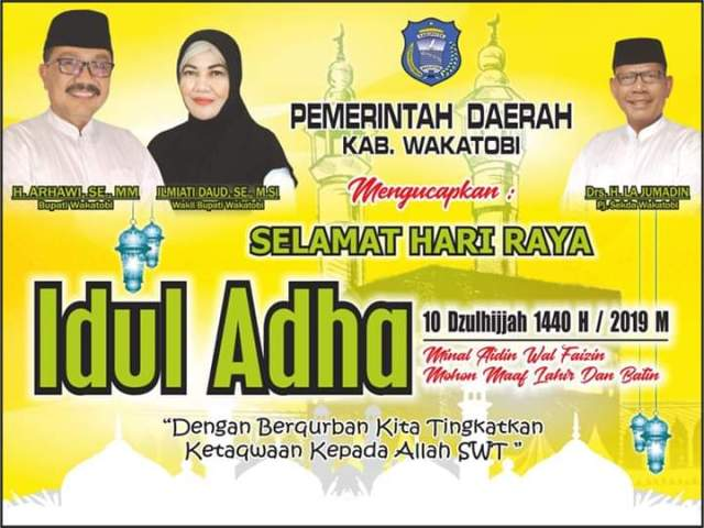 Iklan Idul Adha Wakatobi