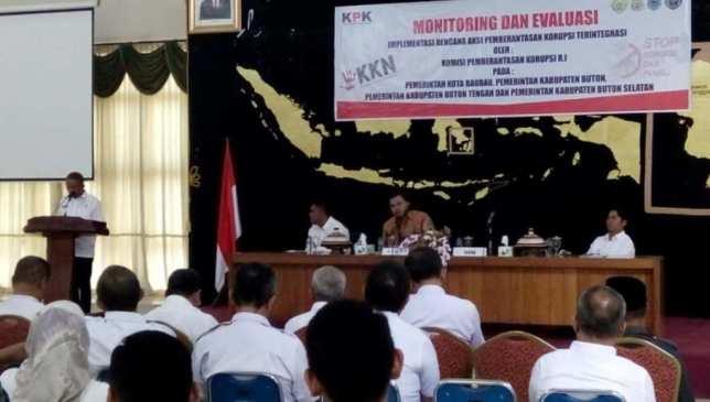 Usai Muna, Mubar, KPK Gelar Pembinaan di Baubau, Buton dan Busel