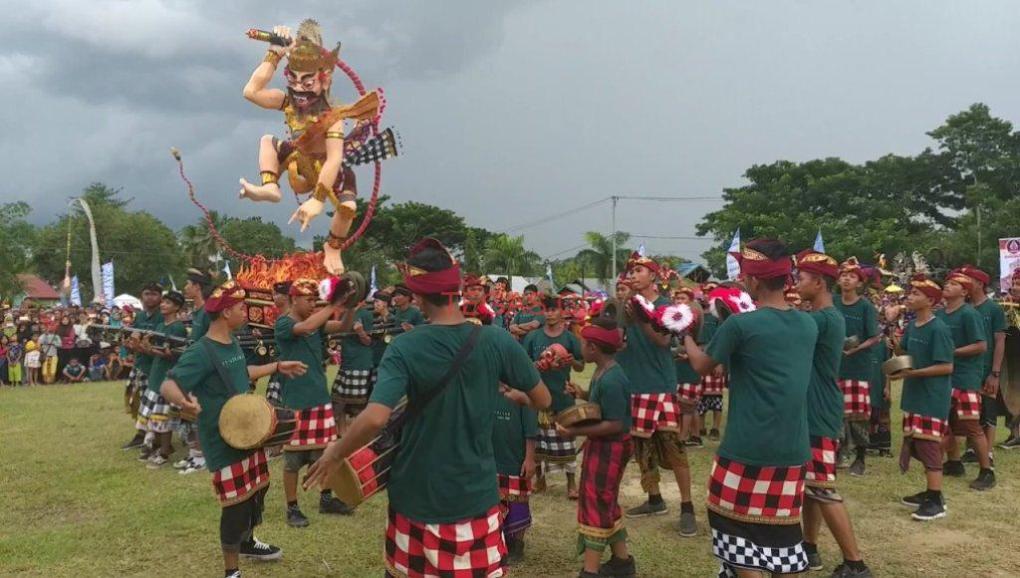 Ogoh-ogoh di Kolaka Timur, Silaturahmi Dalam Kebhinnekaan