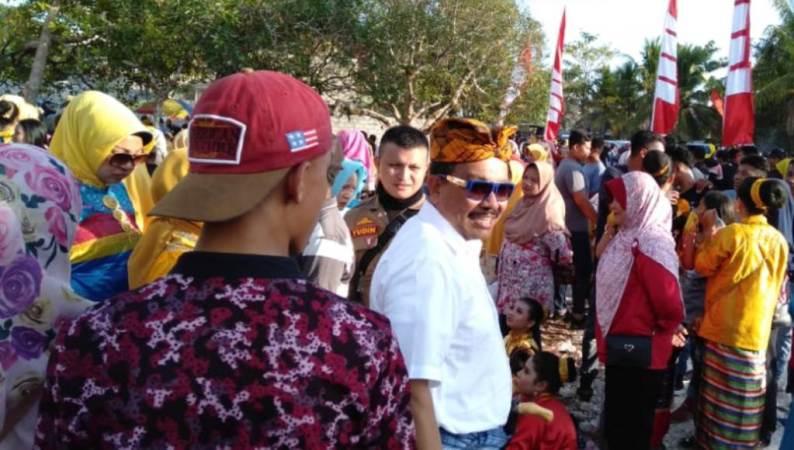 Bupati Wakatobi Buka Even Festival Benteng Tindoi Maleko 2019