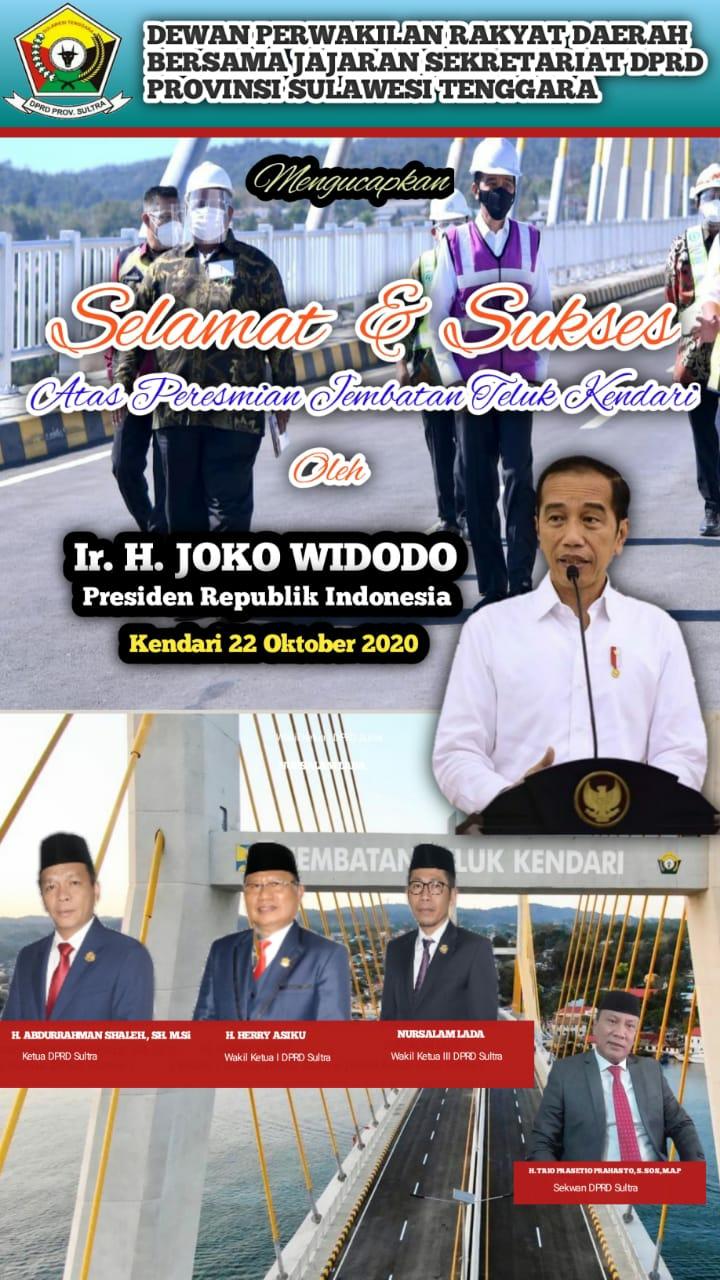 Iklan Jokowi DPRD Sultra