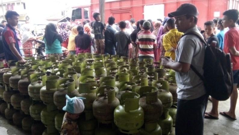 Konsumsi LPG 3 Kg Bersubsidi di Sultra Capai 146 Metrik Ton Perhari