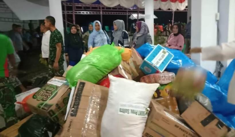 Peduli Korban Banjir BKMT dan LASQI Sultra Salurkan Bantuan di Konut