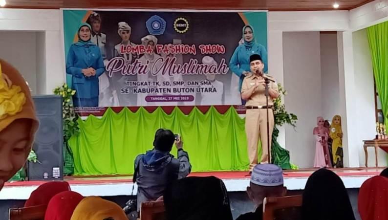 Ramadhan, PKK Butur dan BKMT Gelar Lomba Putri Muslimah