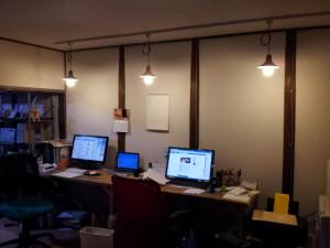 作業部屋の風景