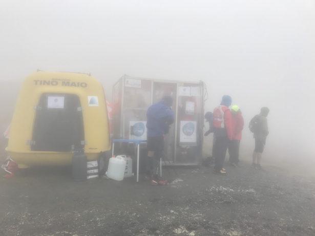 Grand Col Ferret山頂