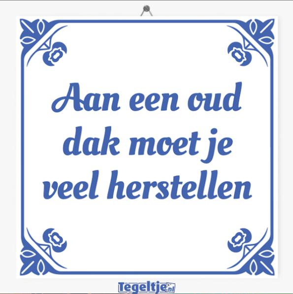 Oer Hollandse tegeltjes