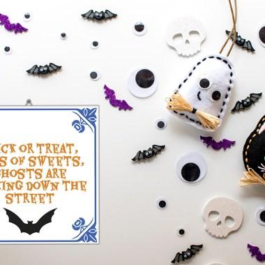 8 keer leuke Halloween tegeltjes