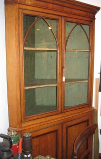 Cupboard made in West St, Newport, mid 19th century