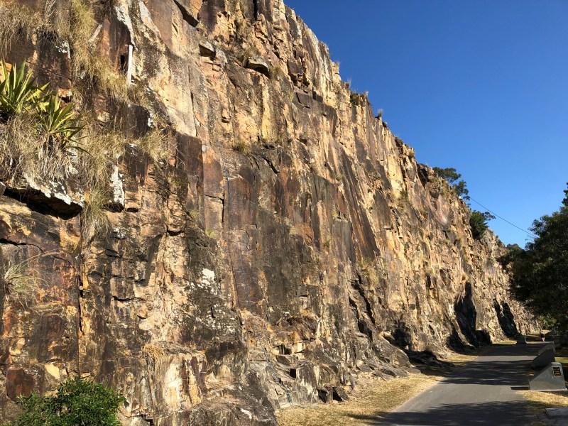 Kangaroo Point Cliffs
