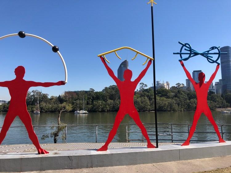 Sculptures of olympics