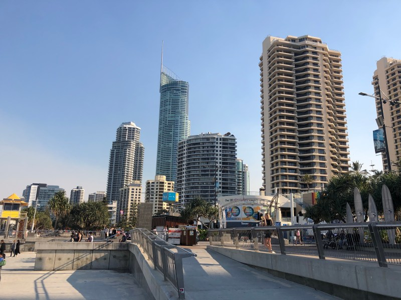 buildings in the gold coast