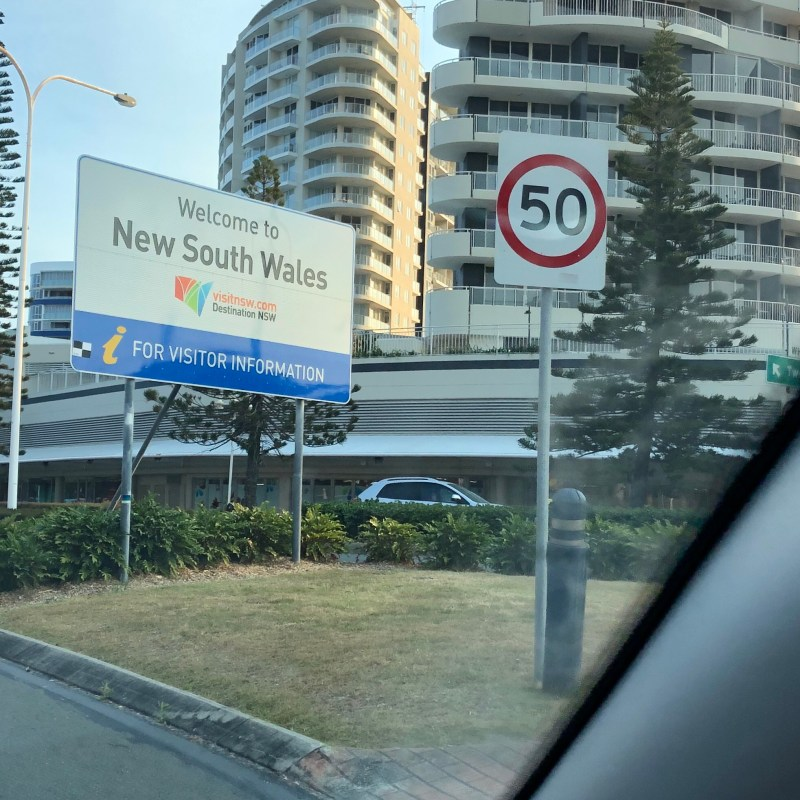 New South Wales sign