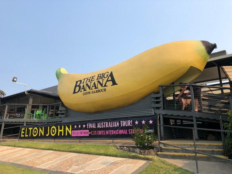 The big banana sign