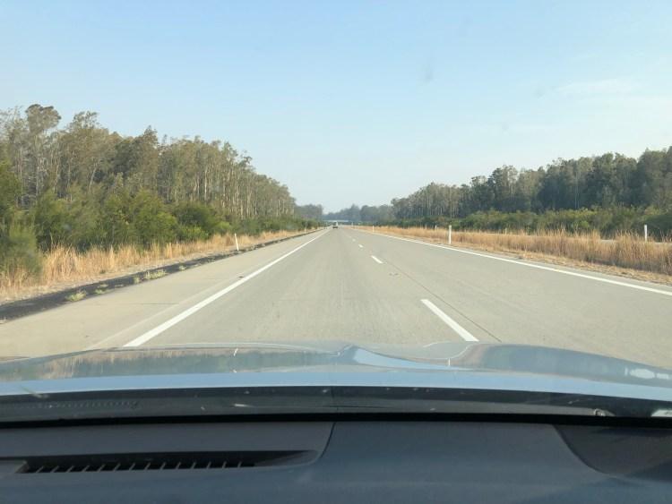flat highway