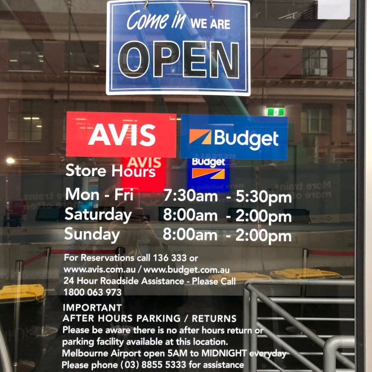 Budget operating hours