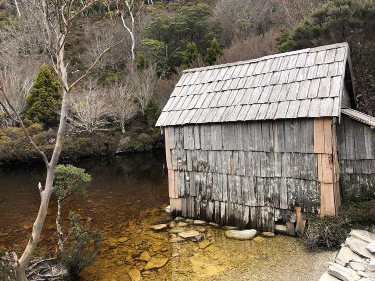 boathouse at lake