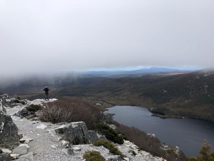 view of dove lake