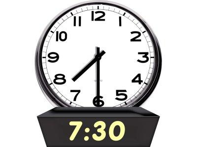 7 30 clock temple