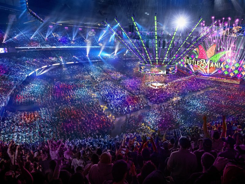 WrestleMania 34 Generates $175M in Economic Impact for NOLA