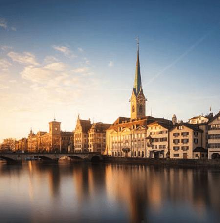 Zurich Switzerland skyline