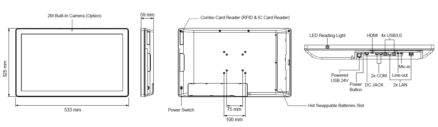 TME-5040-22 Technical Drawing