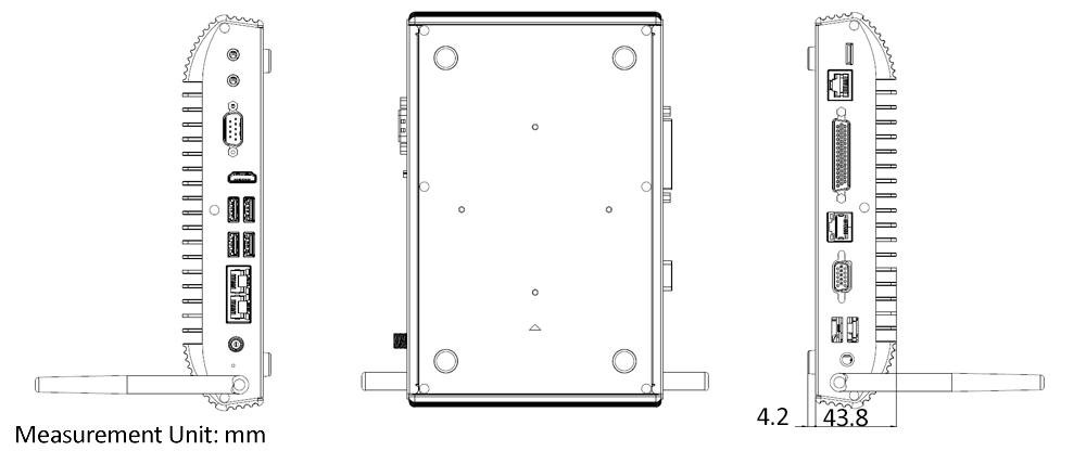 TB-5085 Tech Drawing