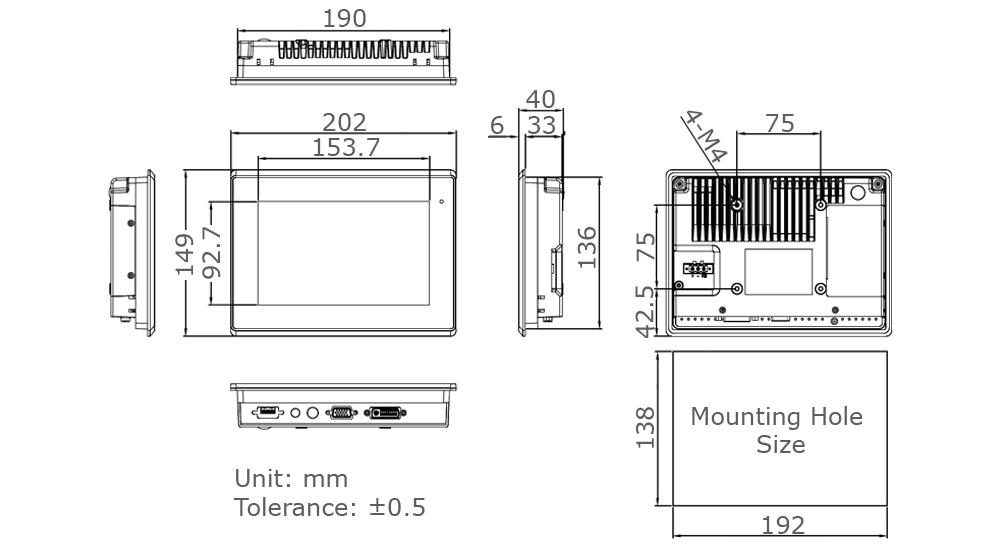 TD-45-07 Tech Drawing