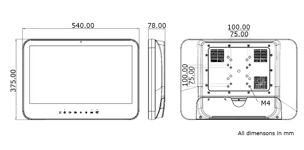 Technical Drawing TM-5010-22F