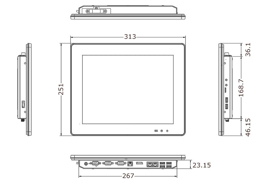TP-3485-12 Tech Drawing