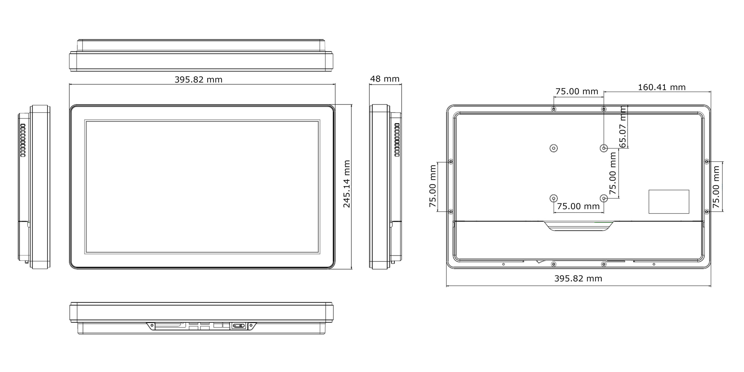TP-5040-16 Technical Drawing