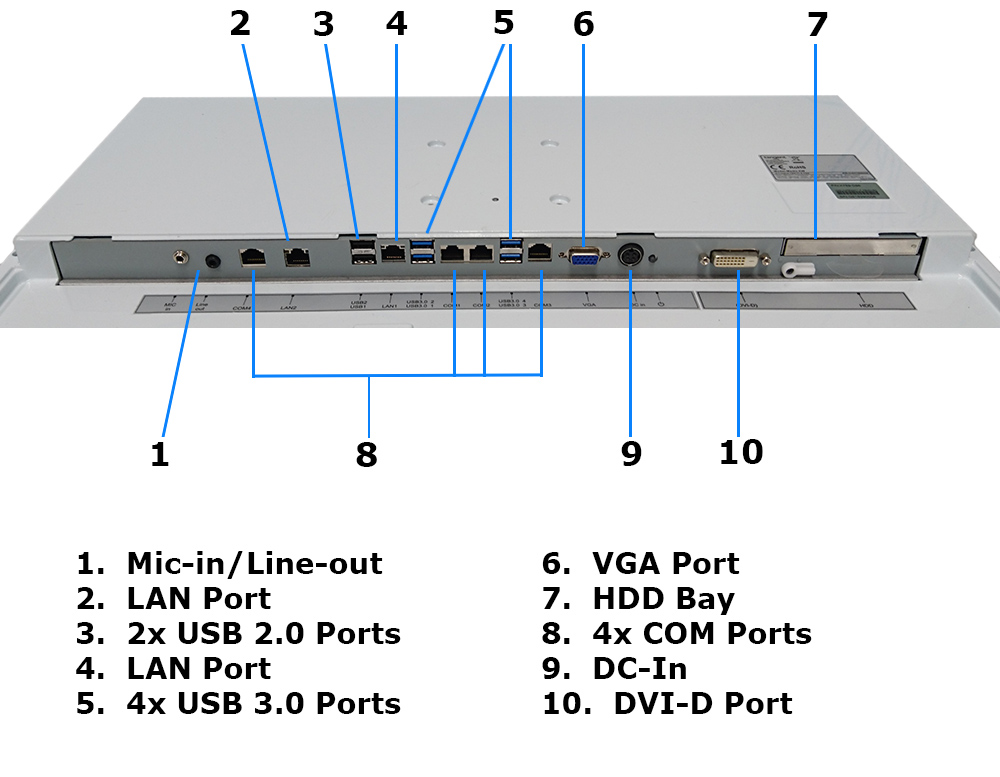 fanless all in one computer