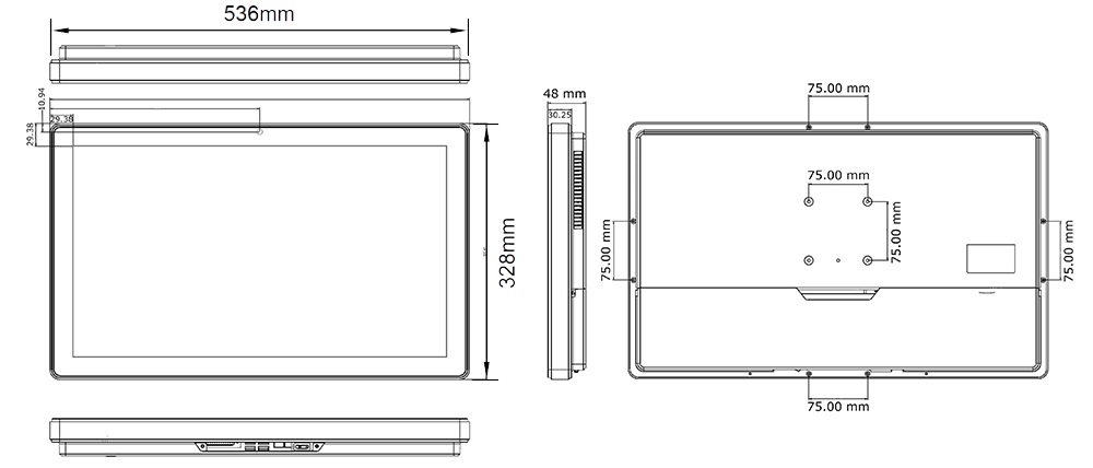 TP-5040-22 Technical Drawing